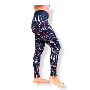 legging black palm